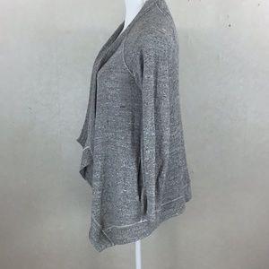 Splendid Sweaters - Splendid Gray Open Cardigan With Pockets